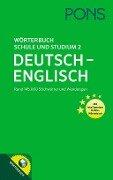 PONS Wörterbuch für Schule und Studium 2 -