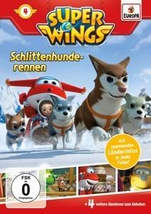 Super Wings 04. Schlittenhunderennen -