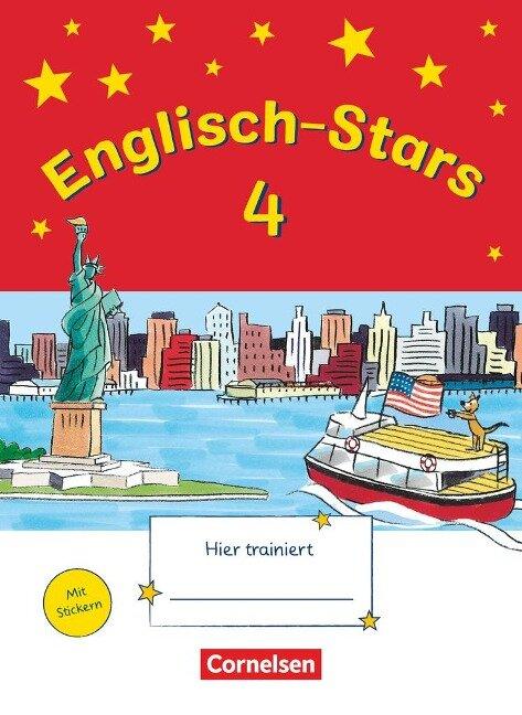 Englisch-Stars 4. Schuljahr. Übungsheft -