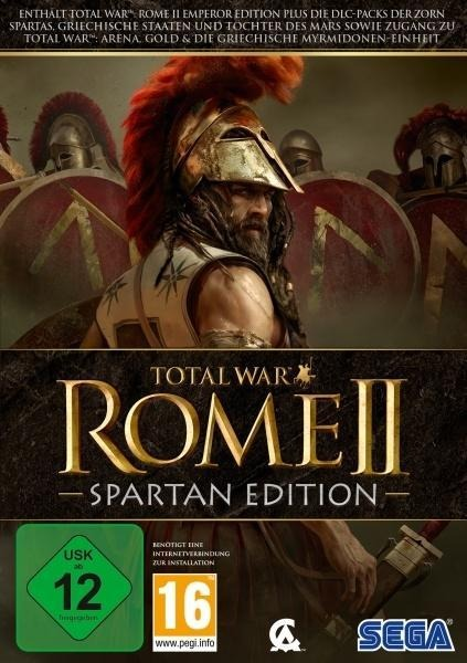 Total War: Rome 2 - Spartan Edition. Für Windows XP/Vista/7/8/10 -