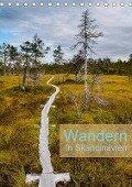 Wandern - In Skandinavien (Tischkalender 2019 DIN A5 hoch) - Rolf Dietz