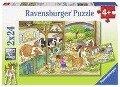 Fröhliches Landleben. Puzzle 2 x 24 Teile -