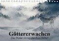 Göttererwachen. Die Natur im mystischen Nebel (Tischkalender 2019 DIN A5 quer) - Elisabeth Stanzer