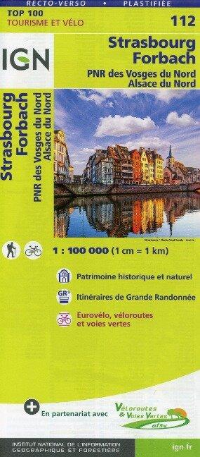 Strasbourg Forbach 1:100 000 -
