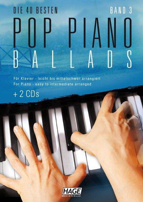 Pop Piano Ballads 3 mit 2 CDs -