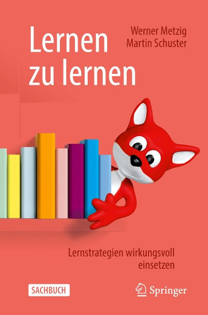 Lernen zu lernen - Werner Metzig, Martin Schuster