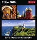 Reise. Kalender 2018 - Bernhard Pollmann, Martina Schnober-Sen