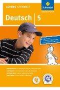 Alfons Lernwelt Lernsoftware Deutsch 5. CD-ROM. Windows 7; Vista; XP und Mac OS X 10.5 - Ute Flierl, Wolfgang Francich, Rainer Wagenhäuser