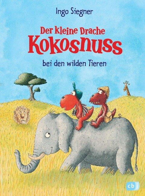 Der kleine Drache Kokosnuss bei den wilden Tieren - Ingo Siegner
