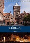 Lübeck - Hanseschönheit in Insellage (Tischkalender 2019 DIN A5 hoch) - U. Boettcher
