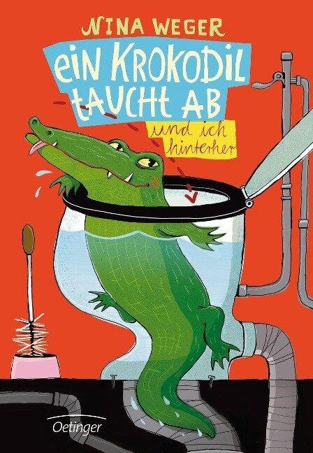 Ein Krokodil taucht ab - Nina Rosa Weger