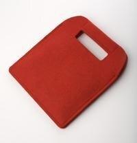 ecarrier Filztasche für tolino shine, vision 2 - Rot -