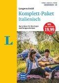 Langenscheidt Komplett-Paket Italienisch - Sprachkurs mit 2 Büchern, 6 Audio-CDs, 1 DVD-ROM, MP3-Download -