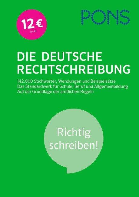 PONS Die Deutsche Rechtschreibung -