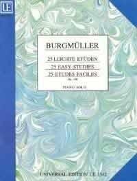 25 leichte Etüden - Friedrich Burgmüller