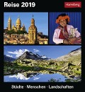 Reise. Kalender 2019 - Bernhard Pollmann, Martina Schnober-Sen