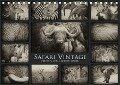 Safari Vintage (Tischkalender 2019 DIN A5 quer) - Carolin Barth