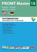 PROMT Master 18 Englisch-Deutsch/Deutsch-Englisch -