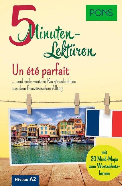 PONS 5-Minuten-Lektüren Französisch A2 - Un été parfait -