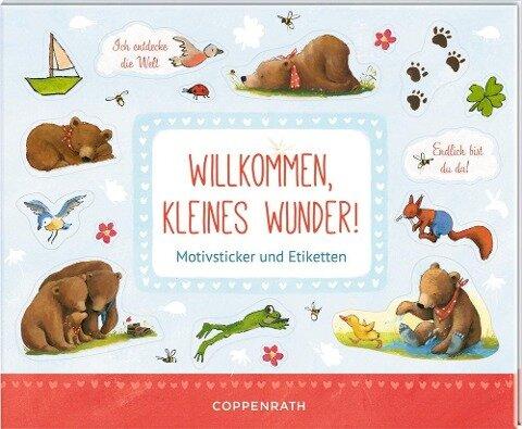 Stickerbuch - BabyBär - Willkommen, kleines Wunder! -