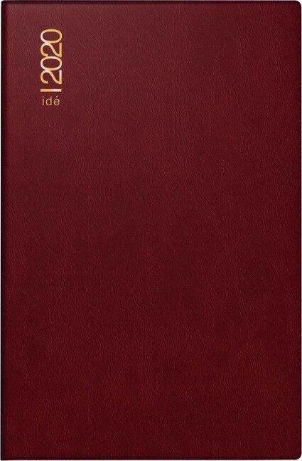 rido Taschenkalender 2020 partner PVC bordeaux -