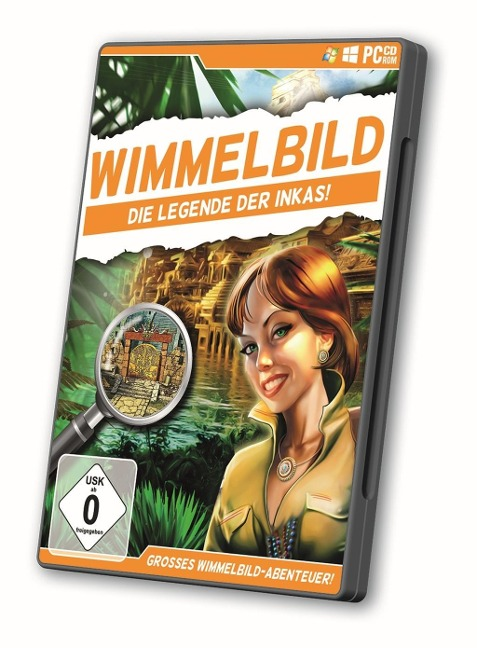 Wimmelbild - Die Legende der Inkas (CD im DVD-Case) -