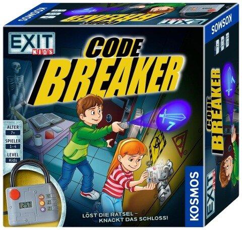 Exit Kids - Code Breaker - Inka Brand, Markus Brand, Ralph Querfurth