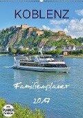 Koblenz Familienplaner (Wandkalender 2017 DIN A2 hoch) - Jutta Heußlein