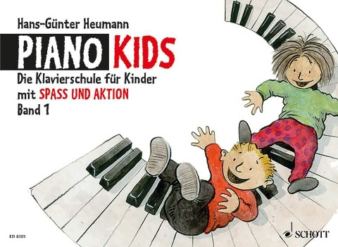 Piano Kids 1 - Hans-Günter Heumann