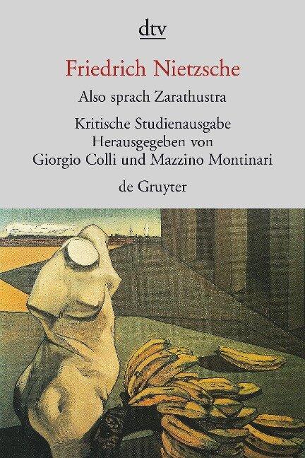 Also sprach Zarathustra I - IV - Friedrich Nietzsche