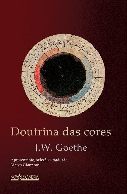Doutrina das cores - J. W. Goethe
