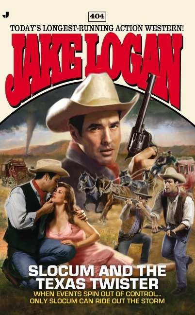 Slocum #404 - Jake Logan