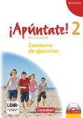 ¡Apúntate! - Ausgabe 2008 - Band 2 - Cuaderno de ejercicios inkl. CD-Extra - Ulrike Lützen, Heike Kolacki