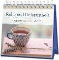Ruhe und Gelassenheit - Mini-Kalender 2019 -