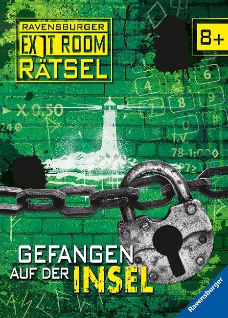 Ravensburger Exit Room Rätsel: Gefangen auf der Insel - Ute Löwenberg