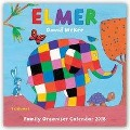 Elmer Family Organiser - Elmar Familienplaner 2018 -