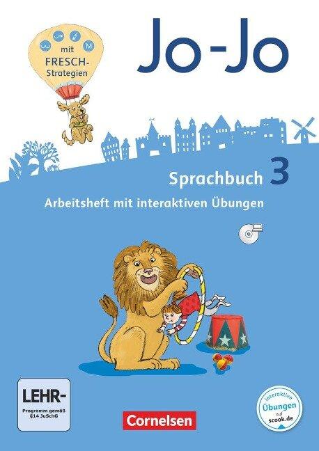 Jo-Jo Sprachbuch 3. Schuljahr - Allgemeine Ausgabe - Arbeitsheft - Frido Brunold, Sandra Meeh, Henriette Naumann-Harms, Rita Stanzel