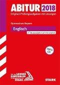 Abiturprüfung Bayern 2018 - Englisch -