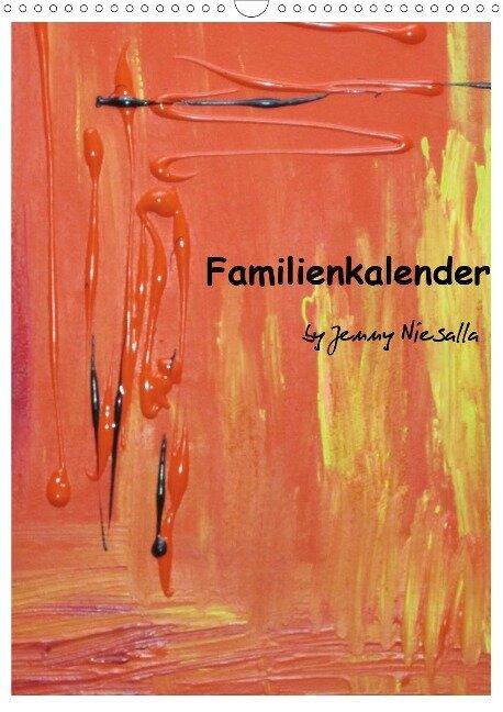 Familienkalender (Wandkalender 2021 DIN A3 hoch) - Jenny Niesalla