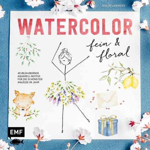 Watercolor fein und floral - Malin Lammers