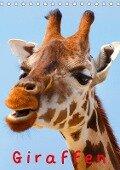 Giraffen (Tischkalender 2017 DIN A5 hoch) - Elisabeth Stanzer
