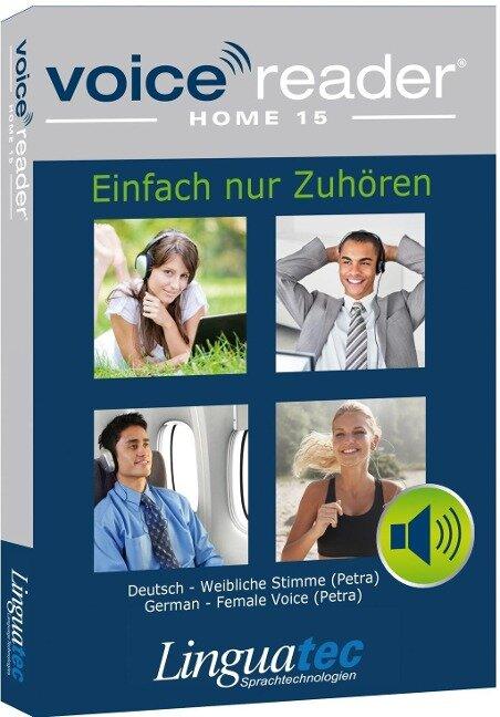 Voice Reader Home 15 Deutsch - weibliche Stimme (Petra) -