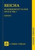 Bläserquintett Es-dur op. 88 Nr. 2 - Anton Reicha