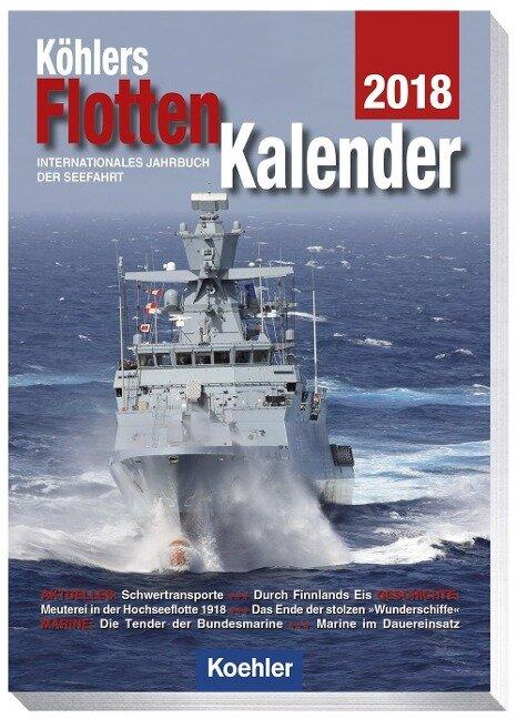 Köhlers Flottenkalender 2018
