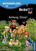 Die drei ??? Kids, Bücherhelden, Achtung, Dinos! (drei Fragezeichen) - Boris Pfeiffer, Ulf Blanck