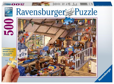 Großmutters Dachboden. Puzzle 500 Teile -