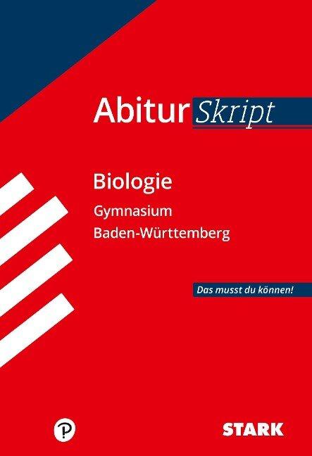 Abiturskript - Biologie Baden-Württemberg -