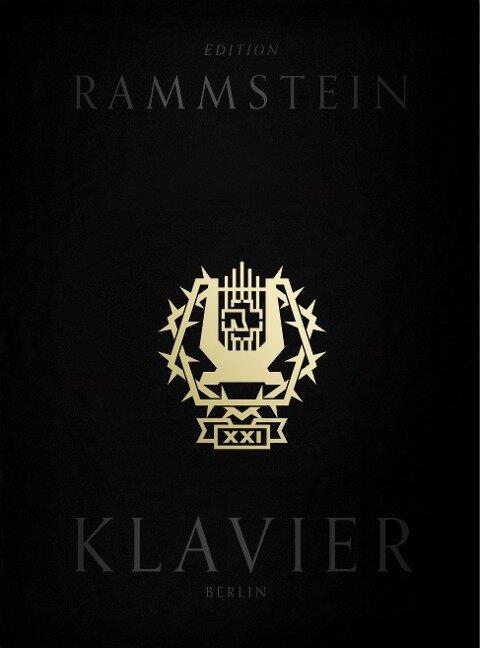 Rammstein: XXI Notenbuch Klavier (Book & CD) - Rammstein