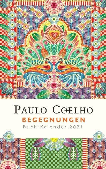 Begegnungen - Buch-Kalender 2021 - Paulo Coelho