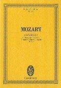 Konzert Nr. 17 G-Dur - Wolfgang Amadeus Mozart